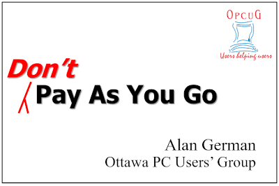 Don't Pay As You Go!