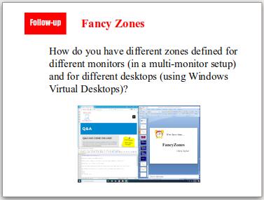 Fancy Zones