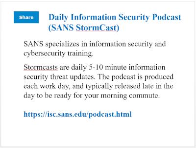 SANS StormCast