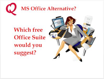 MS Office Alternative?
