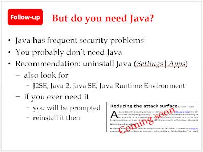 Do you need Java?