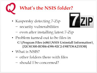 NSIS folder