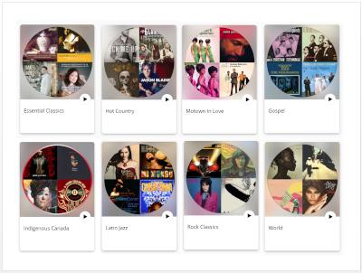 CBC playlists