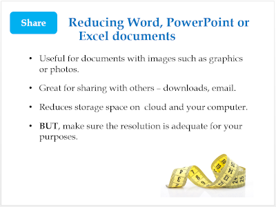 Reduce size of MS Office files