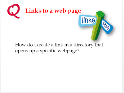 Link to a web page